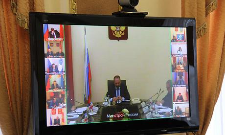 Липецкая область приняла участие во всероссийской видеоконференции