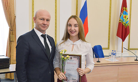 Добровольцы Брянщины получили награды от руководства региона
