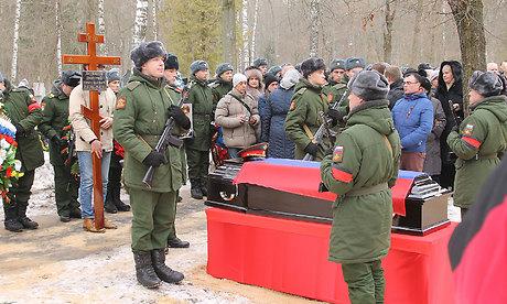 ВНовозыбкове простились страгически погибшим вавиакатастрофе вСочи Борисом Сулеймановым