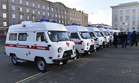 Брянские районные клиники получили 12 новых машин скорой помощи
