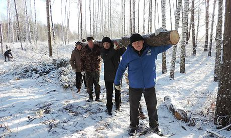 Граждане Брянской области вышли насубботники
