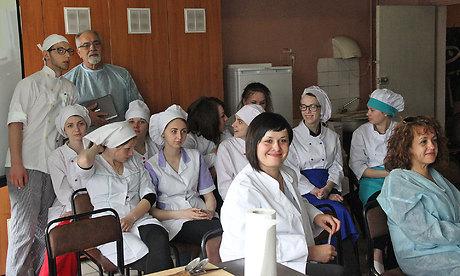 Брянские студенты обучали итальянцев готовить русские пряники