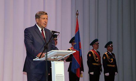 Губернатор поздравил воинов-пограничников иветеранов таможенной службы спраздником