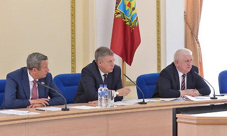 Заседание антитеррористической комиссии Брянской области